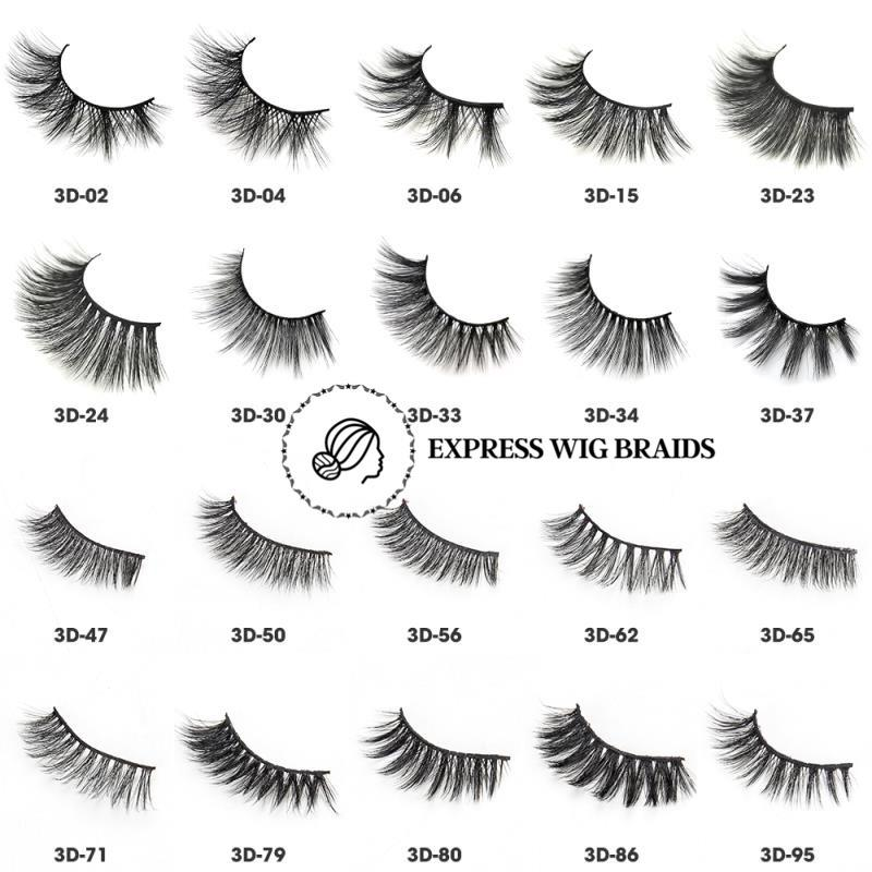 3D Mink Eye Lashes - Express Wig Braids