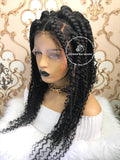 Boho Jumbo Braids- Square - Express Wig Braids