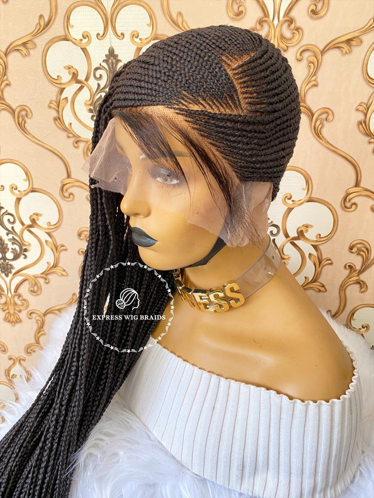 Brandy-1 Transparent Full Lace - Express Wig Braids