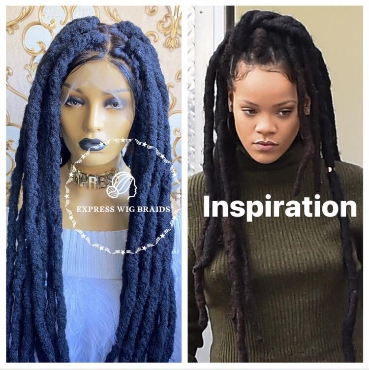 Chunky Dreads-1 - Express Wig Braids