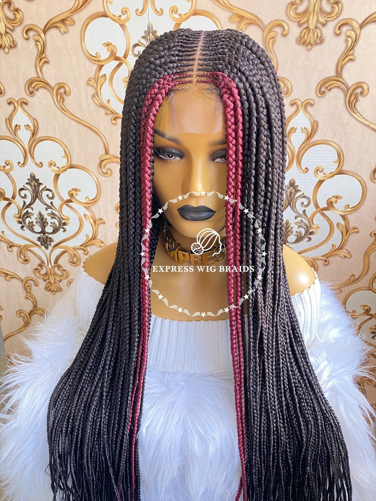Cornrow-Alexis - Express Wig Braids