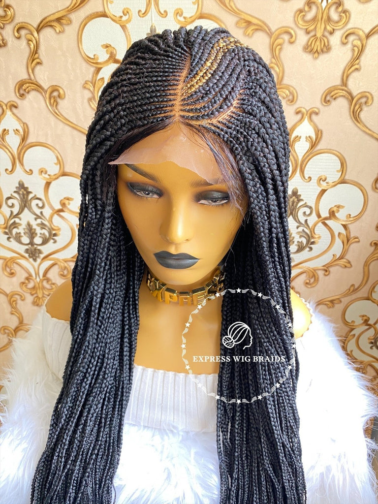 Cornrow-Angella - Express Wig Braids