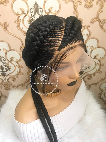 Cornrow-Genesis - Express Wig Braids