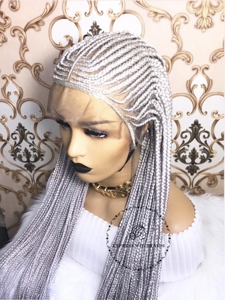 Cornrow- Michelle White - Express Wig Braids
