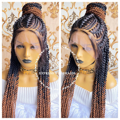 Cornrow Ponytail-Layla - Express Wig Braids