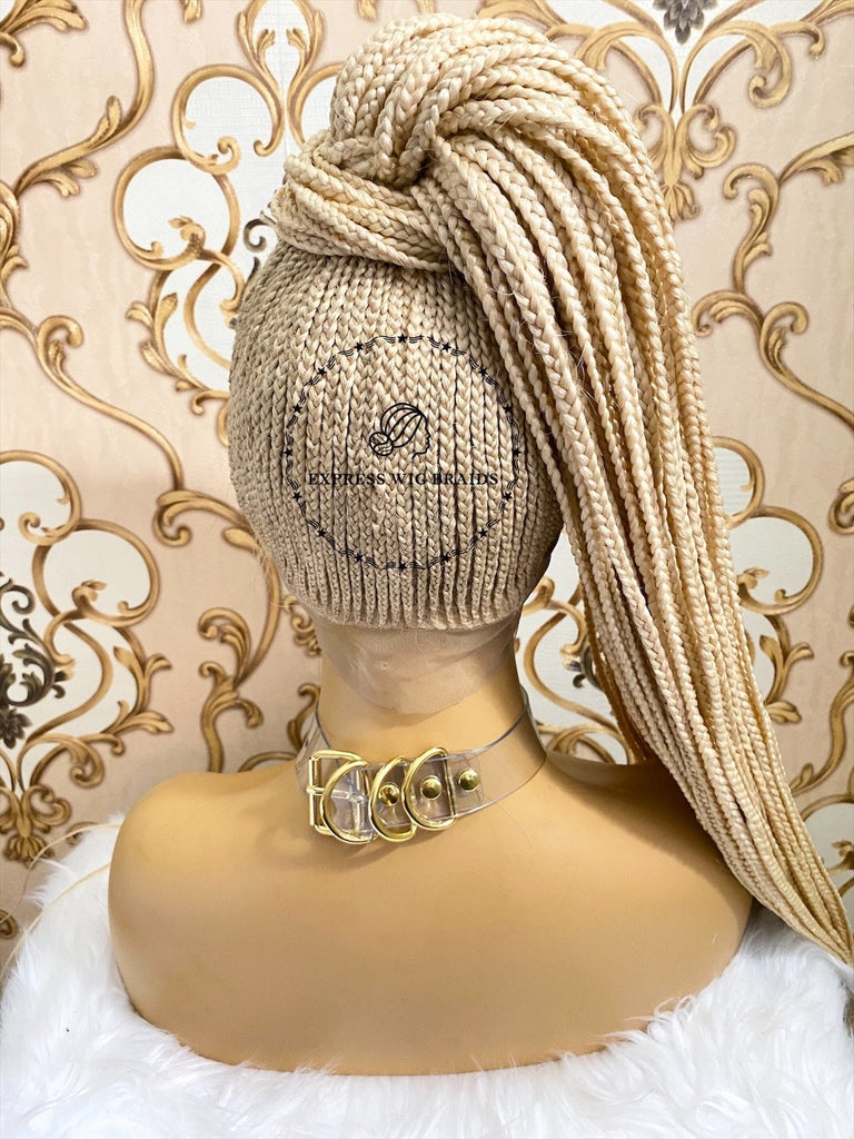 Cornrow Ponytail- Willow - Express Wig Braids