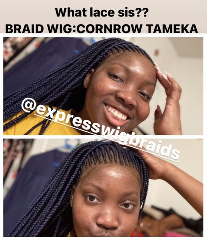 Cornrow-Tameka - Express Wig Braids