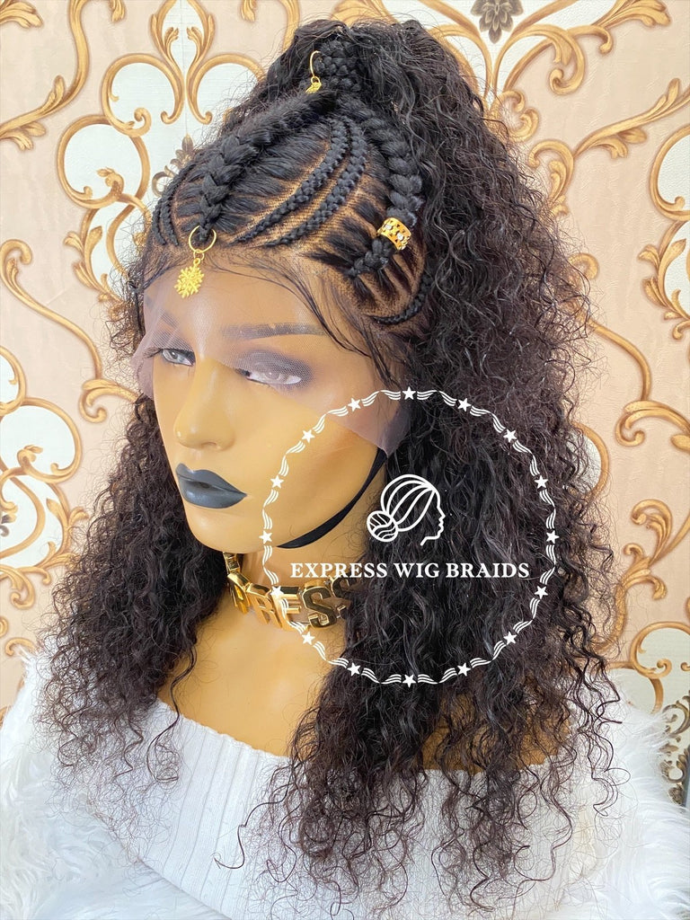 Cornrow Weave-Solange - Express Wig Braids