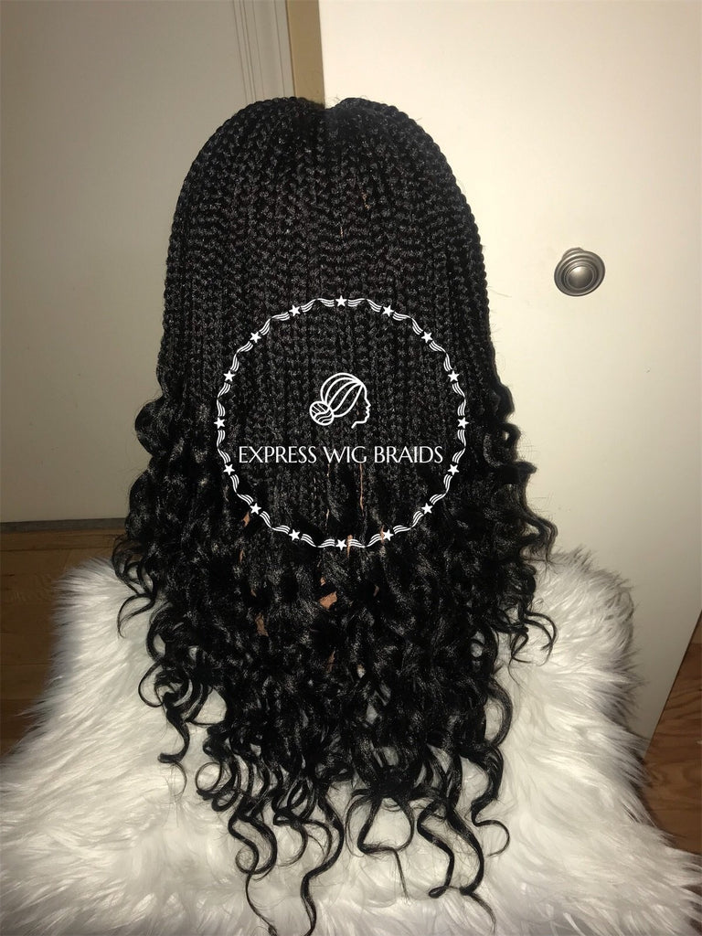 Crochet Goddess Box Braids-Reagan - Express Wig Braids