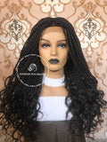 Crochet Goddess Box Braids-Sasha - Express Wig Braids