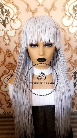 Fringe Box Braids-Mary - Express Wig Braids