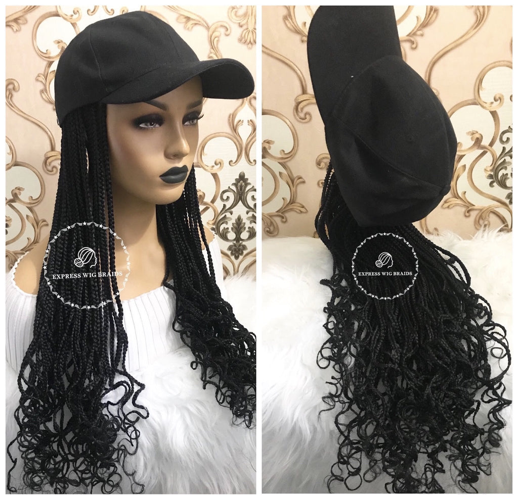 Hat Wig- Texas - Express Wig Braids