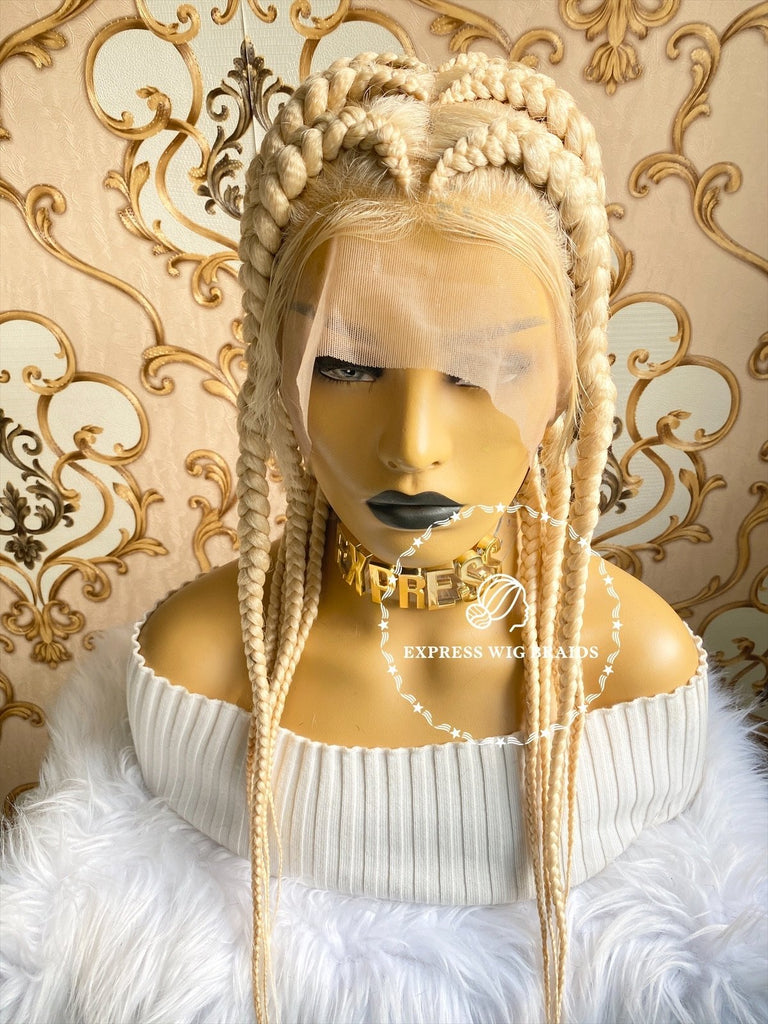 Jumbo Pop- Kimmie Blonde - Express Wig Braids