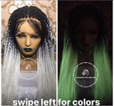 Knotless Glow In Dark - Express Wig Braids