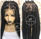 Knotless Triangle-Beth - Express Wig Braids