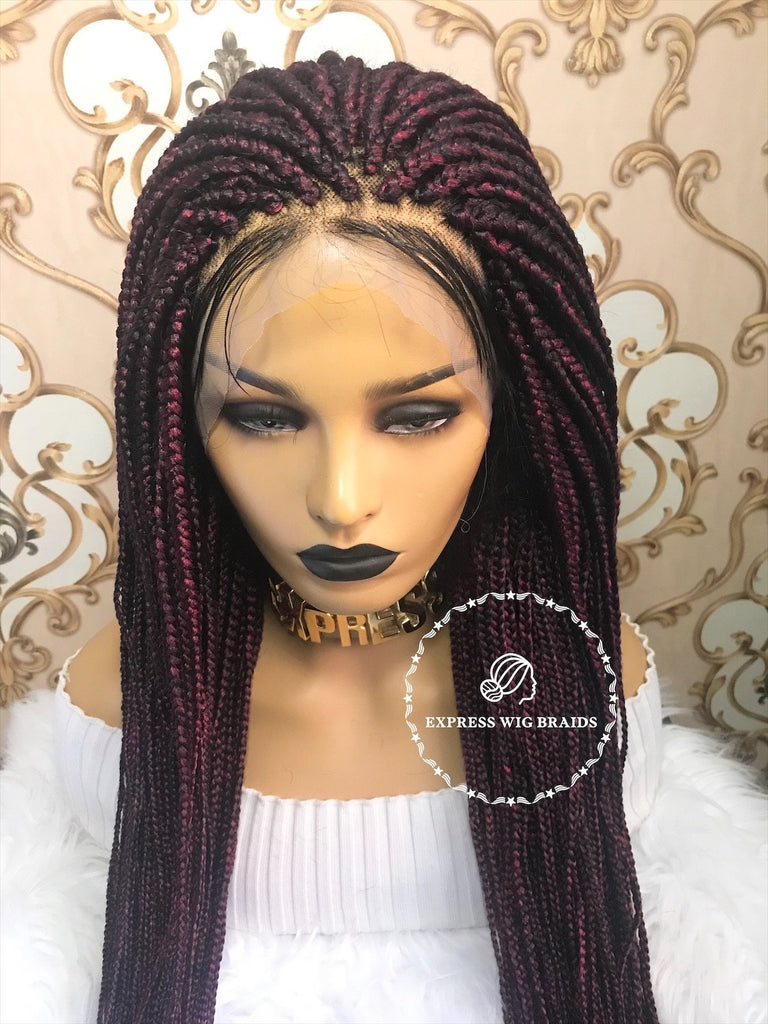 Medium Box Braids-Diva - Express Wig Braids