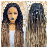 Medium Braids: Diva Ombré - Express Wig Braids