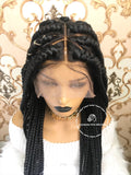 Triangle Jumbo Braids- Claire - Express Wig Braids