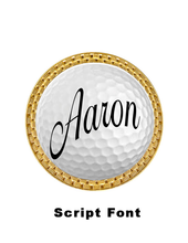 Load image into Gallery viewer, CREATE YOUR OWN Custom Name Golf Ball Marker