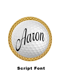 CREATE YOUR OWN Custom Name Golf Ball Marker