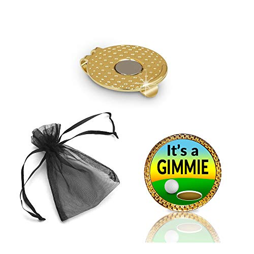 It's a Gimmie Golf Ball Marker and Hat Clip Gift Set
