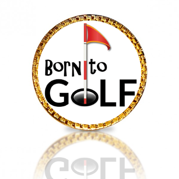 Born To Golf Golf Ball Marker