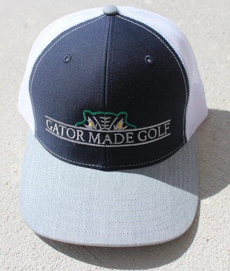 Gator Made Golf Navy-Grey-White Hat