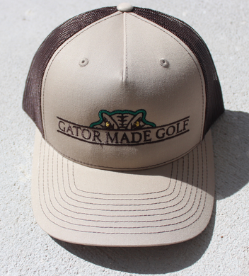 Gator Made Golf Khaki-Coffee Hat