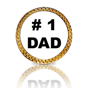 #1 Dad Golf Ball Marker