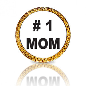 #1 Mom Golf Ball Marker
