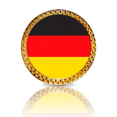German Flag Golf Ball Marker