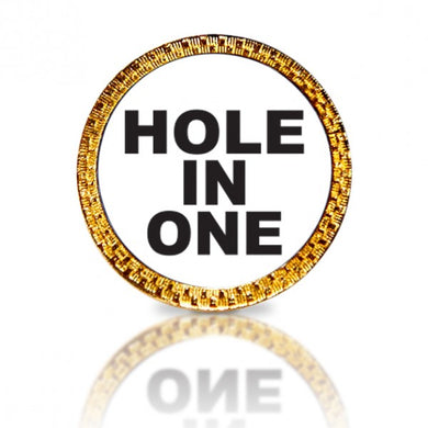 Hole In One Golf Ball Marker