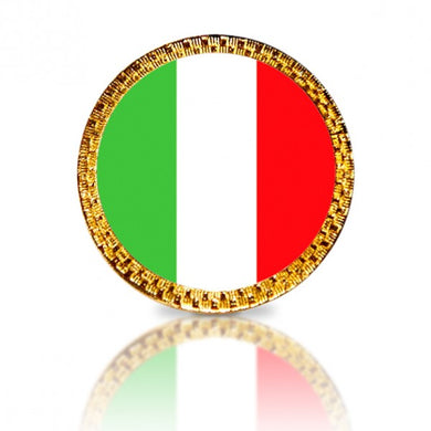 Italian Flag Golf Ball Marker