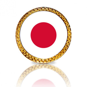 Japanese Flag Golf Ball Marker