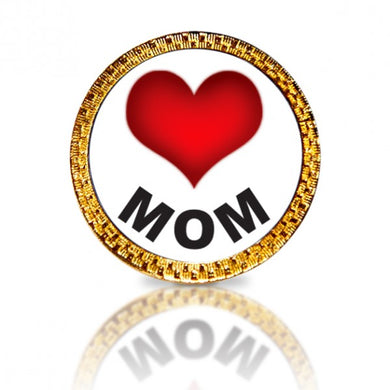 Love Mom Golf Ball Marker