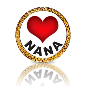 Love Nana Golf Ball Marker