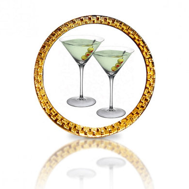 Martini Glasses Golf Ball Marker