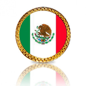 Mexican Flag Golf Ball Marker