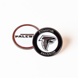 Atlanta Falcons Golf Ball Marker