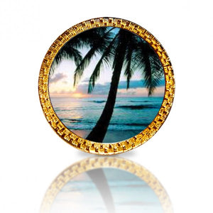 Palm Tree Golf Ball Marker