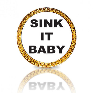 Sink It Baby Golf Ball Marker