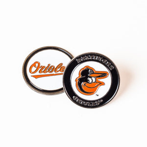 Baltimore Orioles Golf Ball Marker