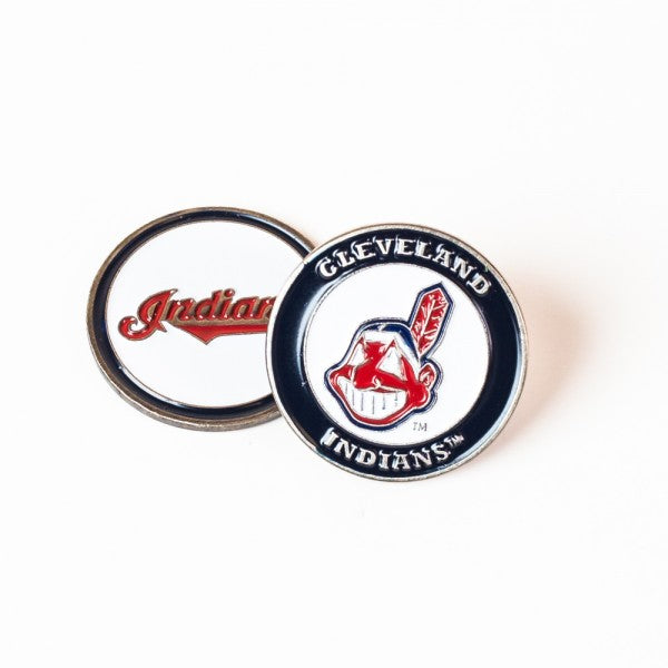 Cleveland Indians Golf Ball Marker