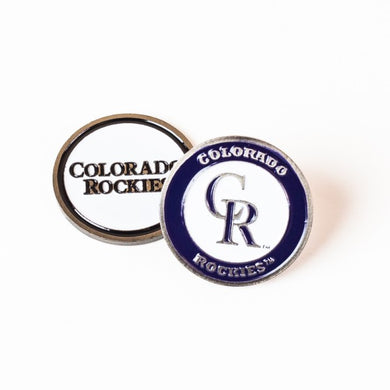 Colorado Rockies Golf Ball Marker