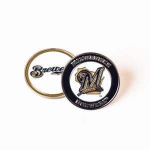 Milwaukee Brewers Golf Ball Marker