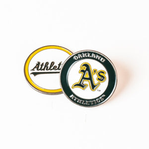 Oakland Athletics Golf Ball Marker