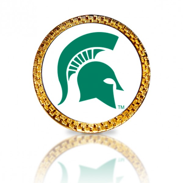 Michigan State University Golf Ball Marker