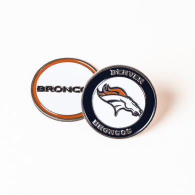 Denver Broncos Golf Ball Marker