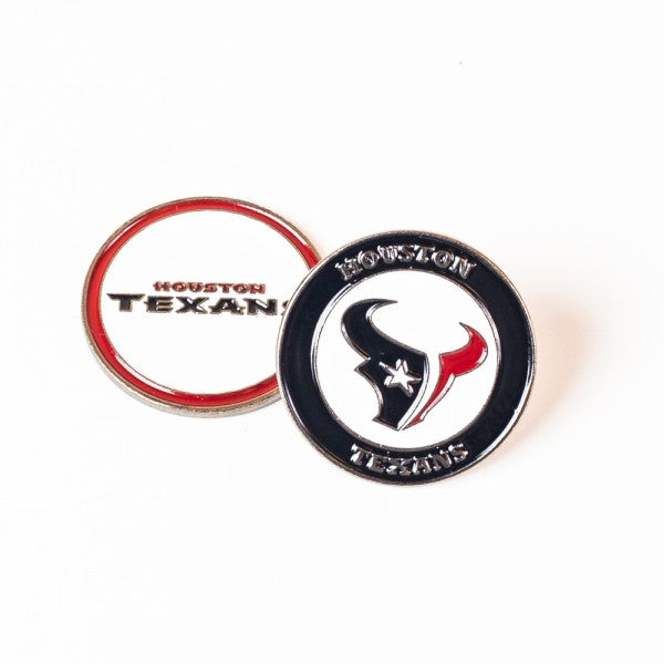 Houston Texans Golf Ball Marker