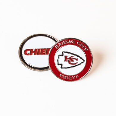 Kansas City Chiefs Golf Ball Marker